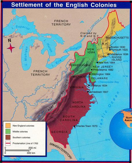 reasons for founding different colonies in north america