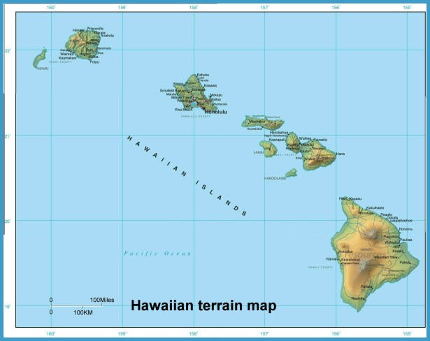 Hawaii map travelsfinders hawaii map7 gumiabroncs Choice Image