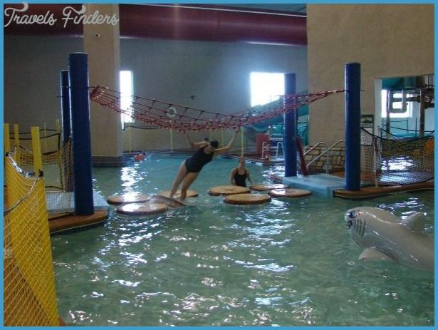 Holiday Inn Splash Bay Indoor Waterpark in Maumee, Ohio