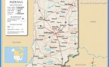Indiana Zip Code Map Archives Travelsfinders Com
