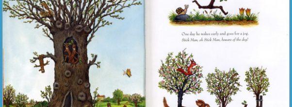 julia donaldson stick man Colouring Pages (page 3)