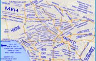 JUDGMENTAL MAPS: Los Angeles, CA by S.H.F. Copr. 2014 S.H.F. All...