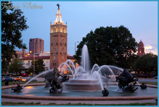 ... the Country Club Plaza in Kansas City. Photo courtesy of VisitKC.com