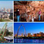 Kansas City, Meramec Caverns, Six Flags St. Louis or St. Louis have a