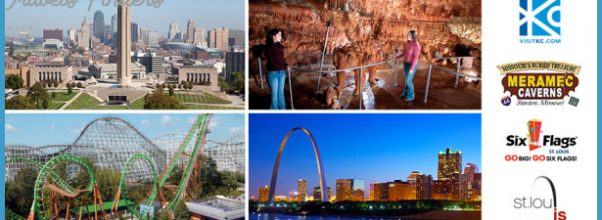Kansas City, Meramec Caverns, Six Flags St. Louis or St. Louis have a