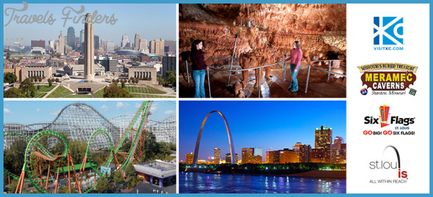Kansas City, Meramec Caverns, Six Flags St. Louis or St. Louis have a ...
