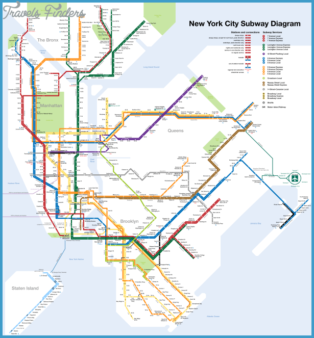 New York Subway Map and Travel Guide - TourbyTransit.com