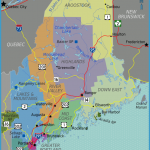 Interactive Maine Vacation Map - | Best Maine Vacation