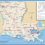 Reference Map of Louisiana, USA - Nations Online Project
