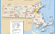 Map of Massachusetts, Massachusetts Maps - Mapsof.net