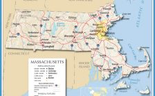Map of Massachusetts, Massachusetts Maps - Mapsof.net