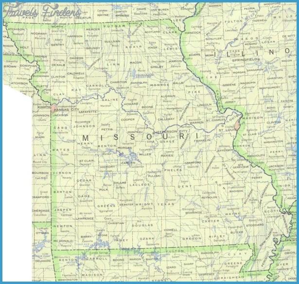 Missouri Base Map