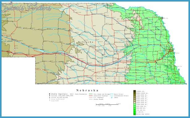 Map Of Nebraska Highways