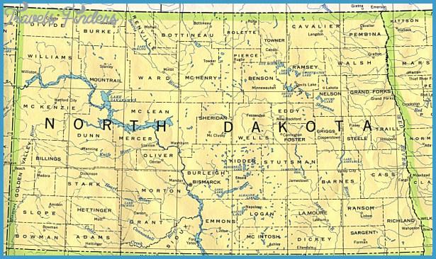 North Dakota Base Map