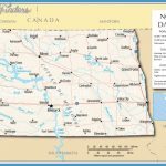 Reference Map of North Dakota, USA - Nations Online Project