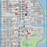 Retail Area Map | The Wrigley Building Chicago Illinois
