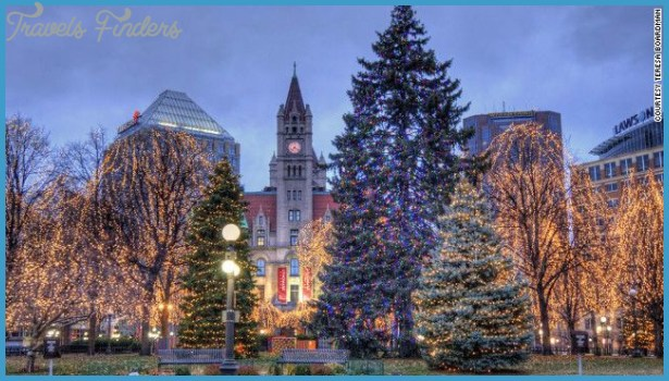 Rice Park, located in downtown St. Paul, Minnesota, gets gussied up ...