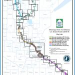map segments mississippi headwaters mississippi northwoods mississippi