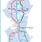 proposed map for the Seattle Subway system. Provided by Seattle Subway
