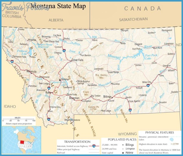 our montana state county map a large detailed map of montana state