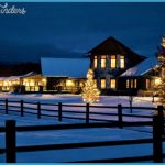 Luxury Montana Christmas Vacation Resorts - The Resort at Paws Up