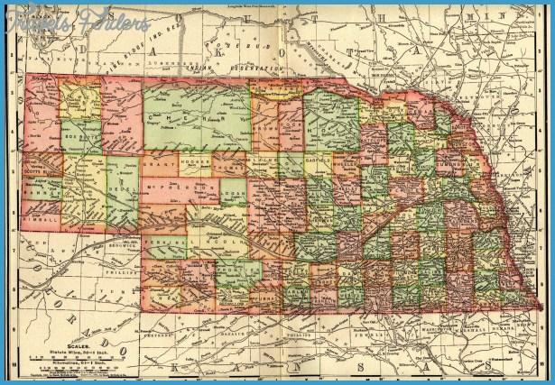 Nebraska Maps. Nebraska Digital Map Library. Table of Contents