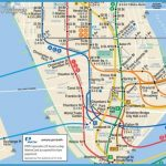 detail from Stewart Mader's combined New York-New Jersey subway map.