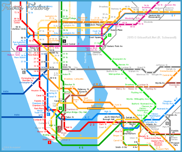 urbanrail.netNew York City Subway Map