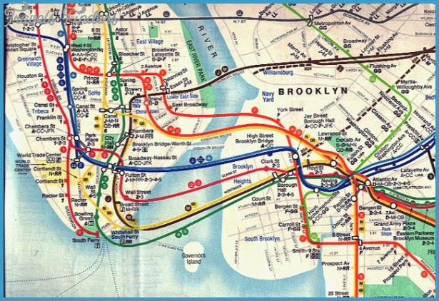 Subway Map From New Jersey To New York.New Jersey Subway Map Travelsfinders Com
