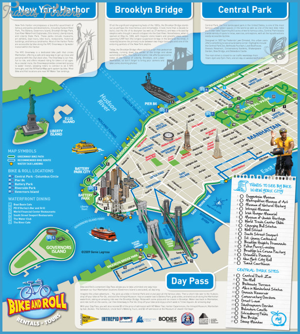 new york tourist map pdf