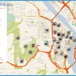 Map of Portland Attractions | Tripomatic