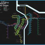 Rail Transit of Portland, Oregon Infographic