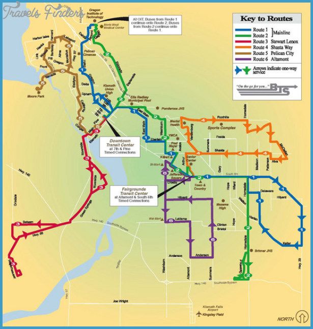 Oregon Subway Map TravelsFinders