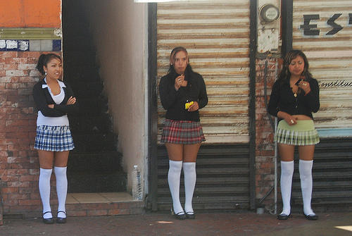девушки лочкого повидения фото