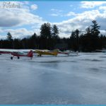 Winter Flying Fun in Maine. | Beech Hill Pond Fly In | Pinterest