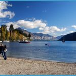 Shoreline, Lake Wakatipu, Queenstown, South Island, New Zealand