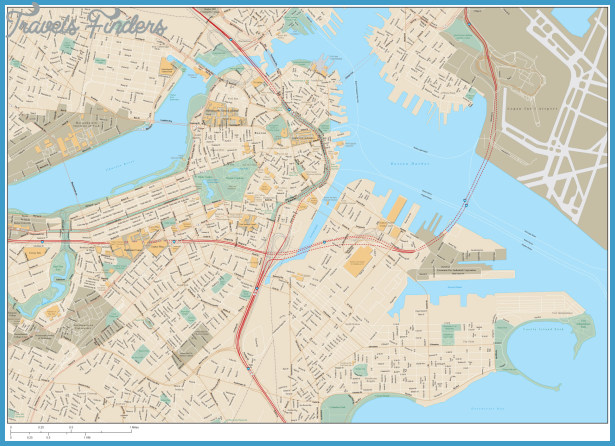 Boston Map - Dr. Odd