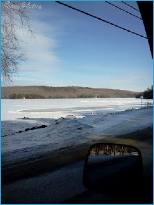 Brewer Lake, Maine...ice skating area | ::::WICKED Maine:::: | Pinter ...