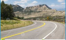 Chief Joseph Scenic Byway Royalty Free Stock Photography - Image