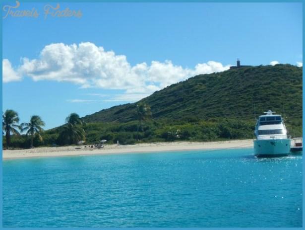 Culebrita Island Photo: Culebrita beach and lighthouse