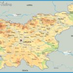 map of Slovenia in English | Tourist map of Slovenia | Highways map