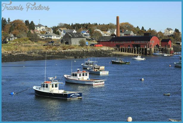Lobster Fleet Downeast Coastal Maine by Scott Leslie