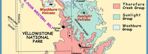 Geologic Map of the Eocene Absaroka Volcanic Field