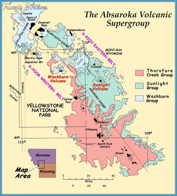 Geologic Map of the Eocene Absaroka Volcanic Field