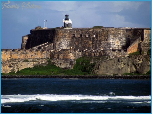 ... of San Felipe del Morro Fort - view from Isla de Cabras in Toa Baja