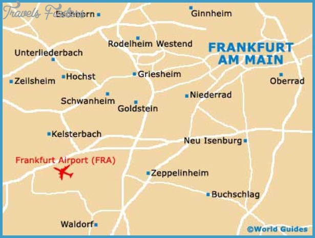 Map of Frankfurt Airport (FRA): Orientation and Maps for FRA Frankfurt
