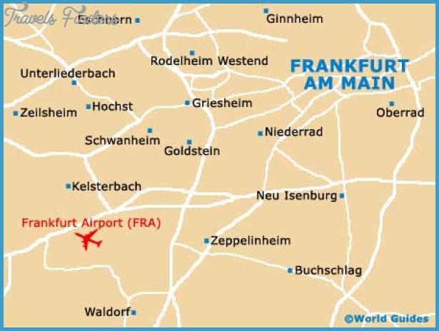 Map of Frankfurt Airport (FRA): Orientation and Maps for FRA Frankfurt ...