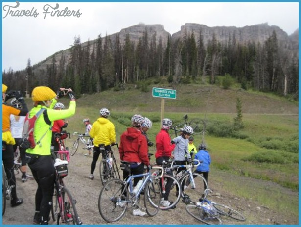 ... : Day 7 Dubois to Moran Junction and the day after | Wyobraska Tandem