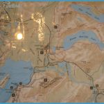 Map of Jackson Lake Lodge, Two Ocean, Emma Matilda, Moran Junction