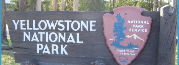 Sign at the South Entrance to Yellowstone. (Submitted Photo)